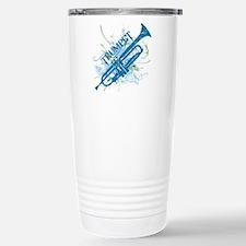 Cool Grunge Trumpet Travel Mug