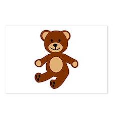 Teddy bear Postcards (Package of 8)