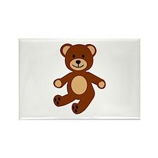 Teddy bear Rectangle Magnet