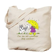 Funny Walker Tote Bag