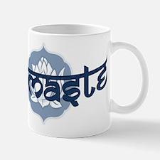 Namaste Lotus - Blue Mug