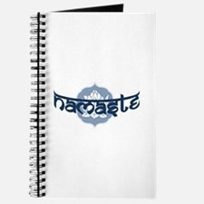 Namaste Lotus - Blue Journal