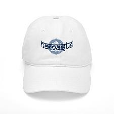 Namaste Lotus - Blue Baseball Cap