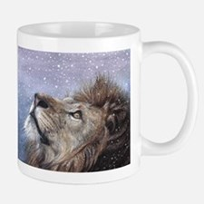 Winter Lion Small Small Mug