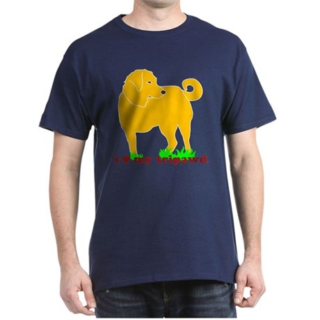 Golden Tripawd Love Dark T-Shirt