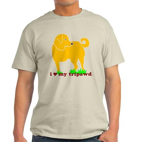 Golden Tripawd Love Light T-Shirt