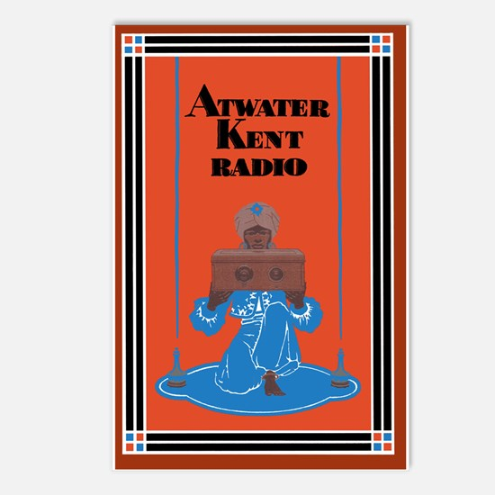 Atwater Kent Radio Postcards (Package of 8)