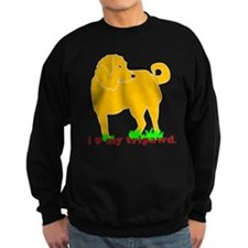 Golden Tripawd Love Sweatshirt