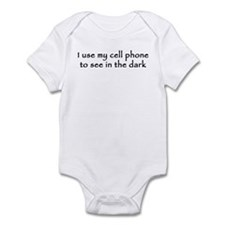 I use my cell phone to see in the dark Infant Body