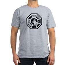 The Looking Glass Men's Fitted T-Shirt (dark)