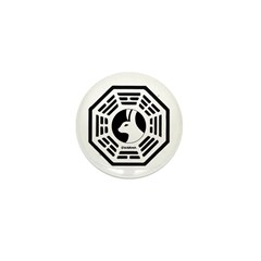 The Looking Glass Mini Button