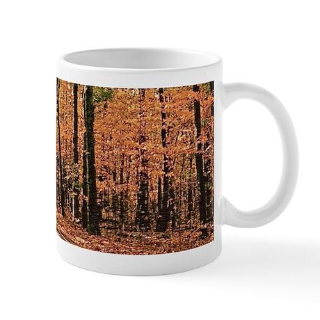 Country Road Fall Scene Mug