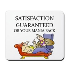 funny therapist Mousepad