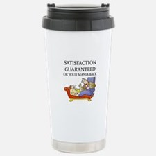 funny therapist Stainless Steel Travel Mug