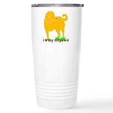 Golden Tripawd Love Travel Mug