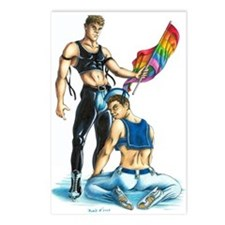 Gay Ice skaters (Package of 8)