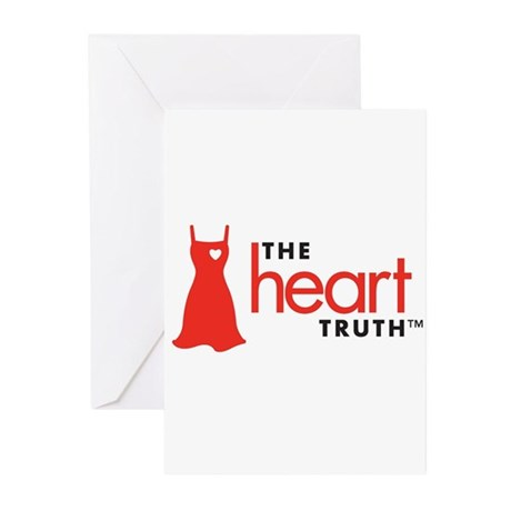 Heart Health for Women Greeting Cards (Pk of 10)