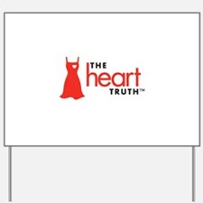 Heart Health for Women Yard Sign