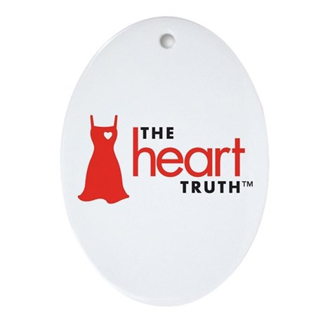 Heart Health for Women Ornament (Oval)