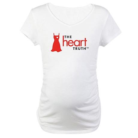 Heart Health for Women Maternity T-Shirt