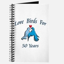 Cool 50th wedding anniversary Journal