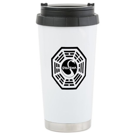 The Swan Stainless Steel Travel Mug