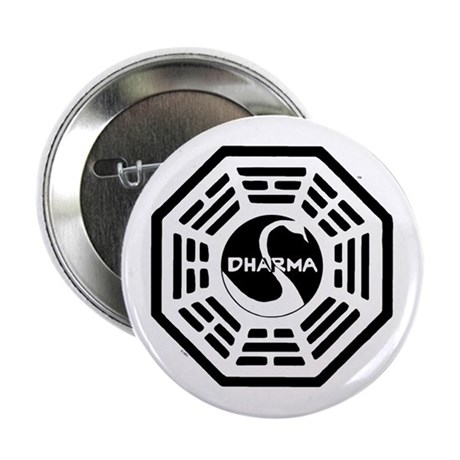 """The Swan 2.25"""" Button"""