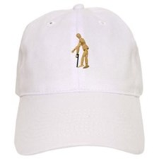 Using a Cane Baseball Cap