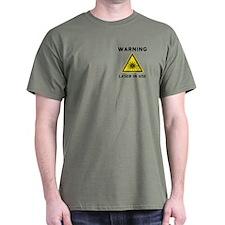 Laser Warning Symbol T-Shirt
