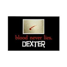 Blood Never Lies Rectangle Magnet