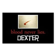 Blood Never Lies Decal