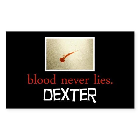Blood Never Lies Sticker (Rectangle)