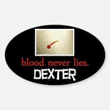 Blood Never Lies Decal