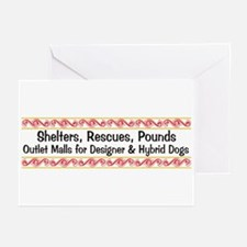 Designer Outlet Mall Greeting Cards (Pk of 10)