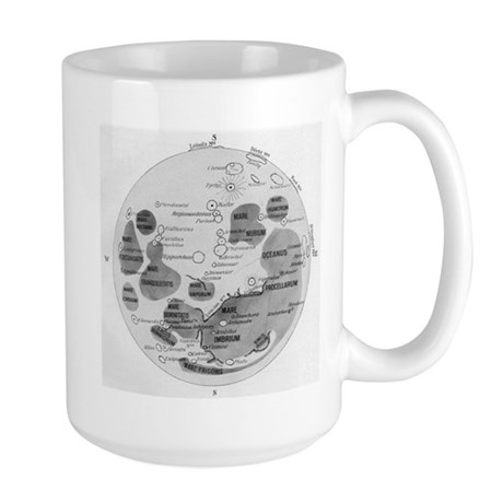 Moon Diagram Large Mug