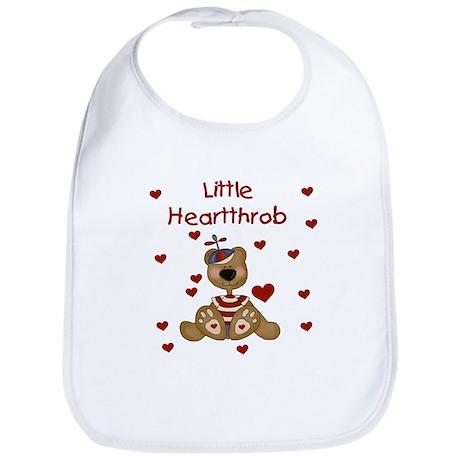 Little Heartthrob (boy) Bib