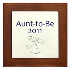 Aunt-to-Be 2011 Framed Tile