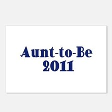 Aunt-to-Be 2011 Postcards (Package of 8)