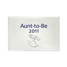 Aunt-to-Be 2011 Rectangle Magnet