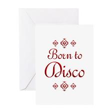 Disco Greeting Card