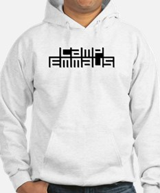 Camp Emmaus Abstract (White) Hoodie