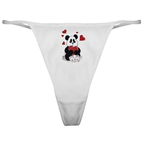Panda Valentine Classic Thong