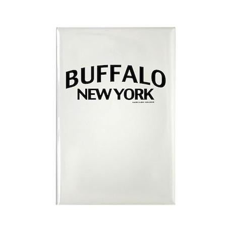 Buffalo Rectangle Magnet