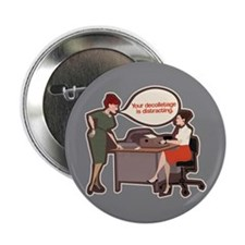 "Joan Holloway Decolletage 2.25"" Button"