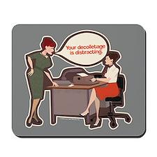 Joan Holloway Decolletage Mousepad
