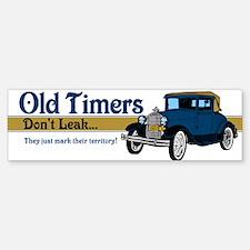 Old Timers Bumper Bumper Sticker