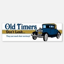 Old Timers Sticker (Bumper)
