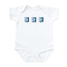 Like, Dislike, Meh.. Infant Bodysuit