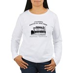 Anaheim Drive-In Theatre Women's Long Sleeve T-Shi