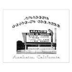 Anaheim Drive-In Theatre Small Poster